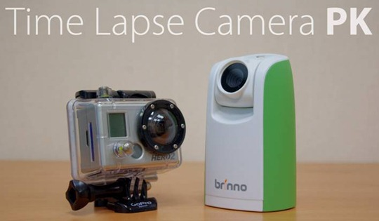 brinno time lapse camera TLC200