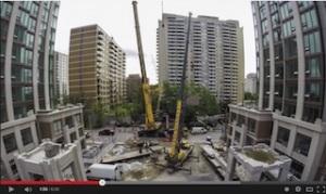 Heathview North Tower Crane Remove