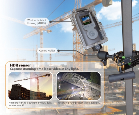 BCC200;HDR construction camera